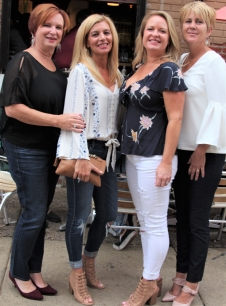 The beauties of Second Street, Eleanor Flood, Betty Maloney, Jeanine Adams and Kristie McGinnis