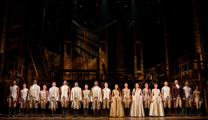 Company - HAMILTON National Tour - (c) Joan Marcus