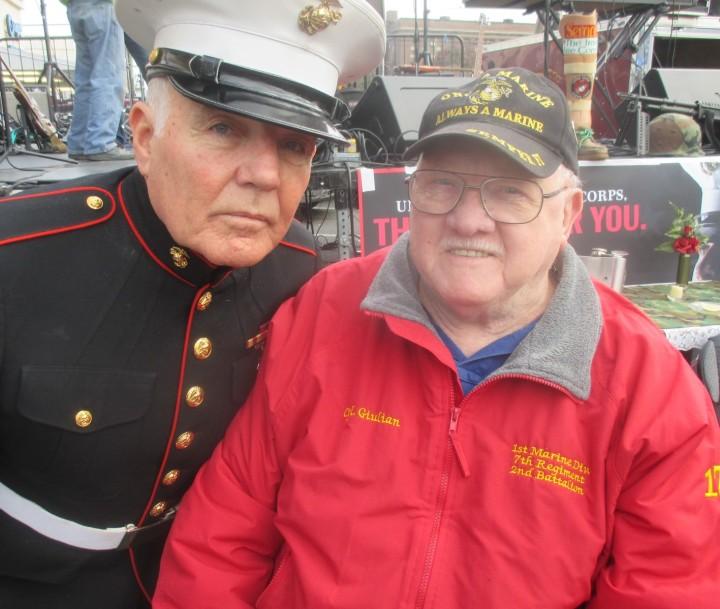 Marine Corps Birthday Pary 2019 Mel Meszaros and Bill Giulian